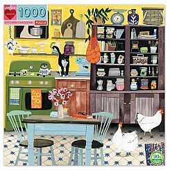 1000 PIECE KITCHEN CHICKEN PUZZLE